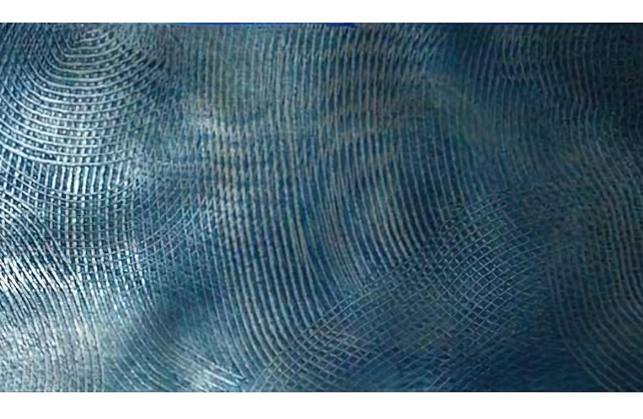 Tissage bleu